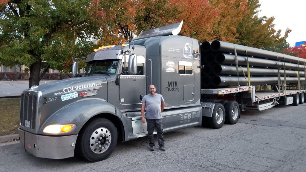 Michael, Owner Operator, MTK Trucking